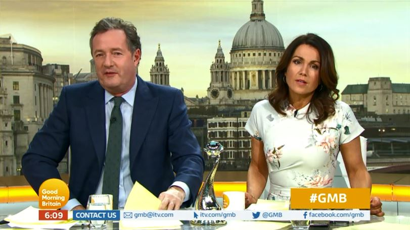 Piers Morgan baffled after Ant McPartlin is nominated for NTAs: 'He's been sitting on his backside'