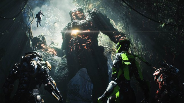 Anthem - we forget the name of these big guys but they're in the tutorial mission