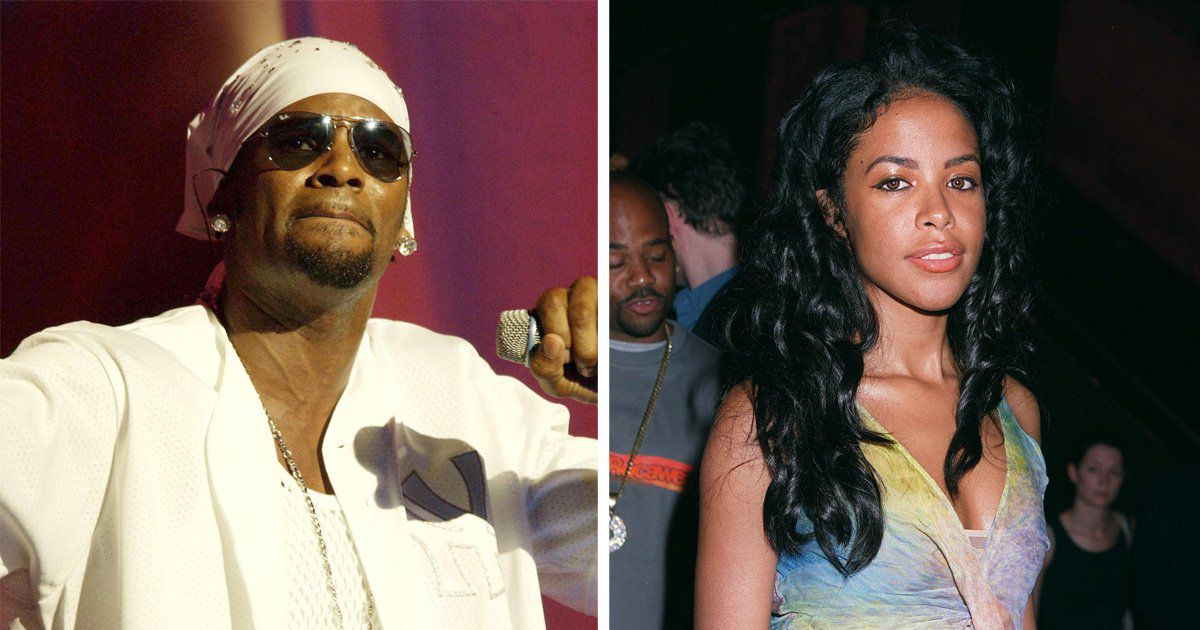 Aaliyah called R Kelly 'a bad man' and refused to discuss their relationship