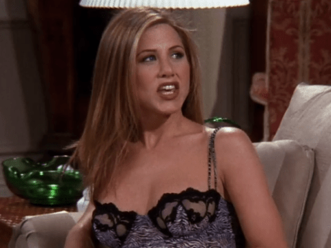 Friends fans spot really creepy blooper in The One With Rachel's New Dress