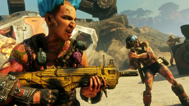 Rage 2 - a less serious post-apocalypse