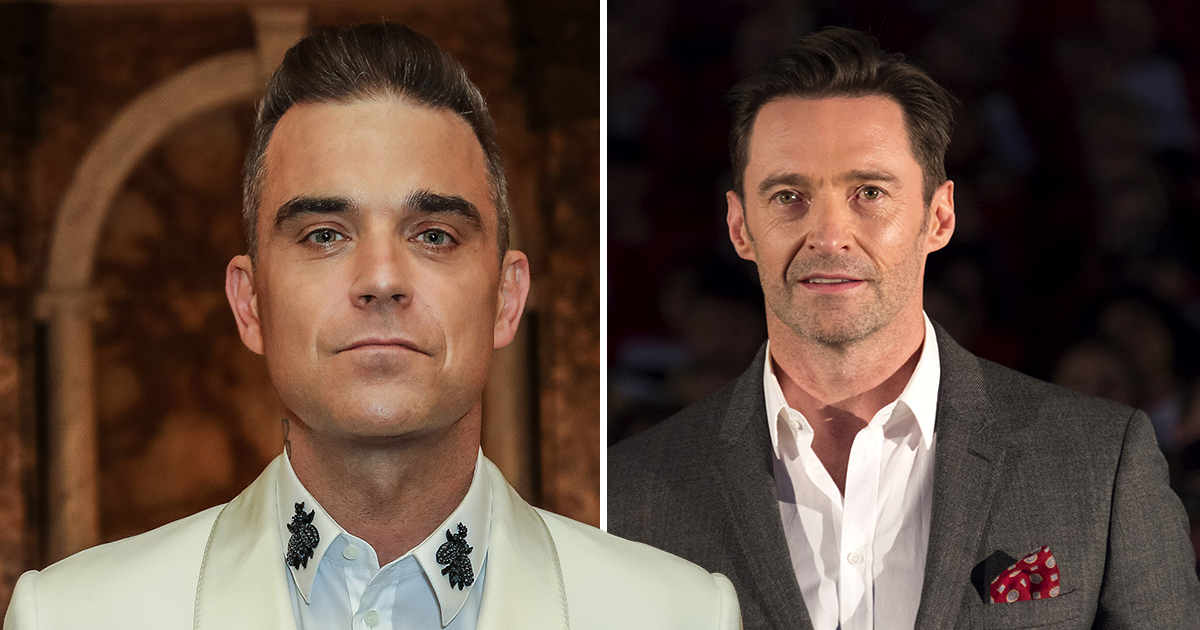 Robbie Williams 'hoping for a Hugh Jackman collaboration' as he writes new swing album