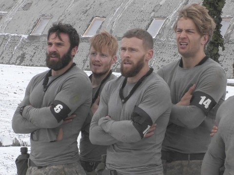 Who are the male contestants in this year's SAS: Who Dares Wins?