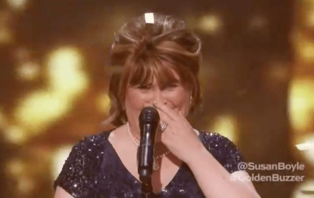 Susan Boyle AGT Champions