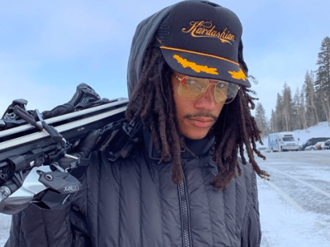 Luka Sabbat declares himself a 'Kardashian' as he joins Kourtney on her family break in Aspen
