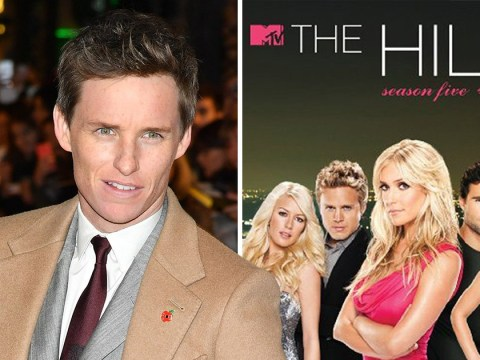 Eddie Redmayne reveals his guilty pleasure for The Hills