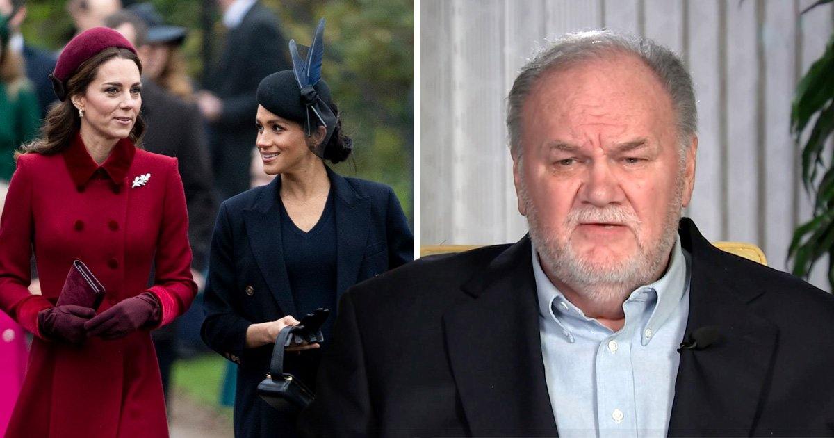 Meghan Markle's father tells her to end rumoured rift with Kate