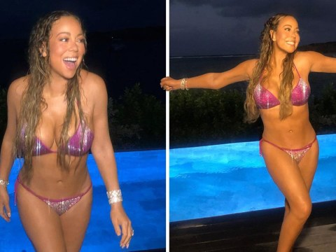 Mariah Carey is feeling herself on bikini holiday and Kim Kardashian is full of compliments