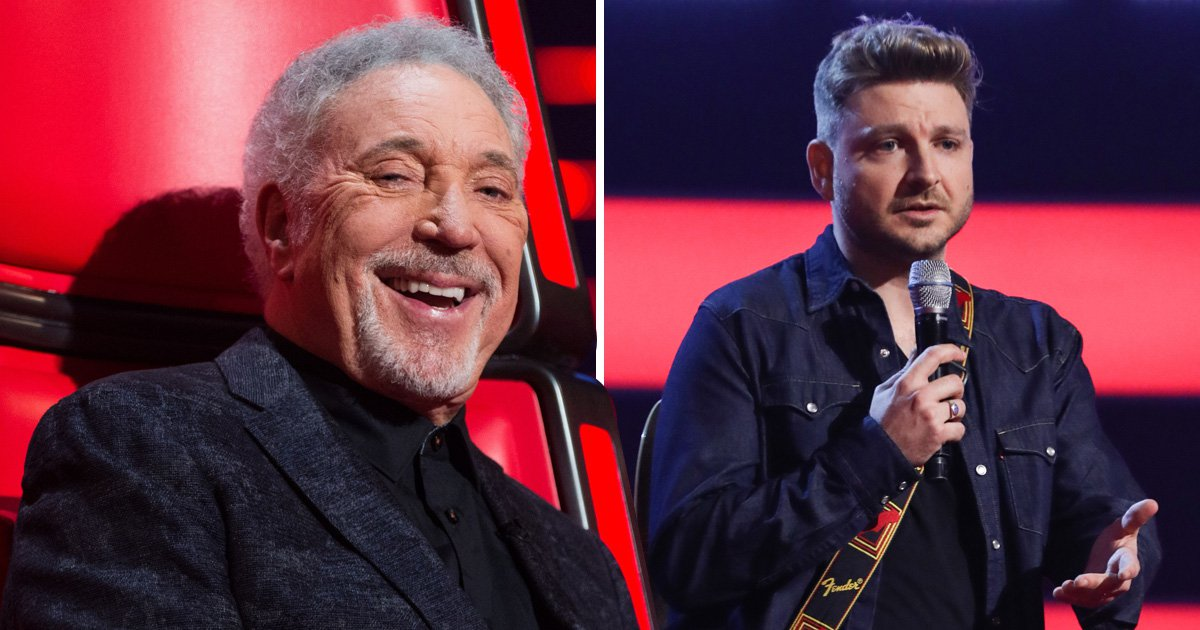 The Voice: Tom Jones hits back at 'fix' accusations over Peter Donegan audition