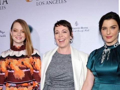 Olivia Colman, Emma Stone and Rachel Weisz are friendship goals