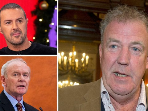 Jeremy Clarkson confuses Top Gear's Paddy McGuinness with former IRA boss and it's pretty awkward for everyone involved
