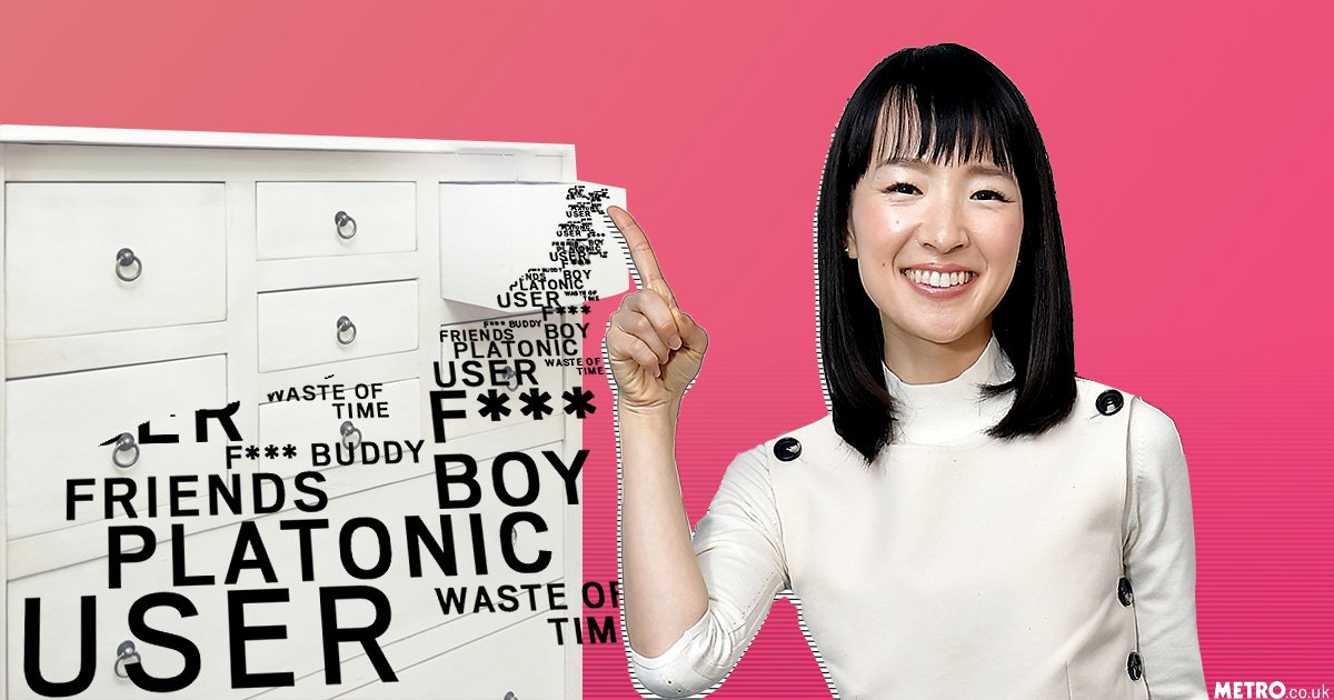 How to declutter your love life in Marie Kondo style