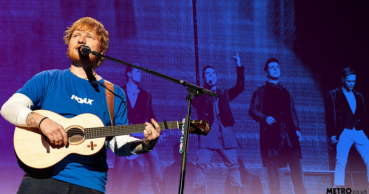 Westlife 'honoured' that Ed Sheeran uses their 'vibe' for big ballads like Perfect