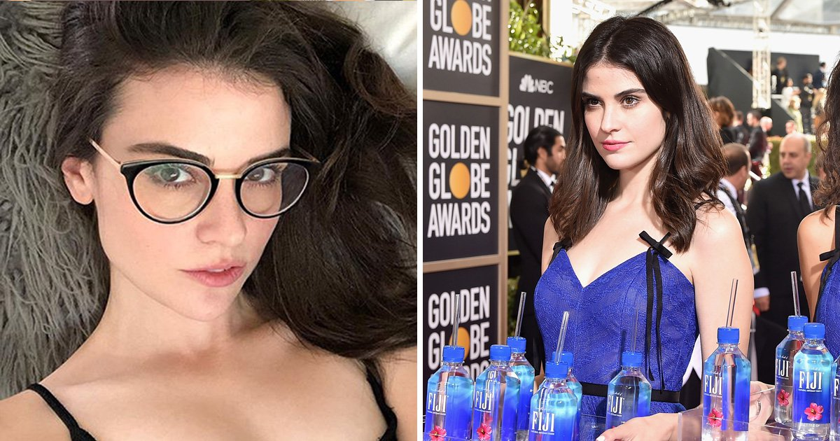 Who is the Fiji Water Girl and where have you seen her before?