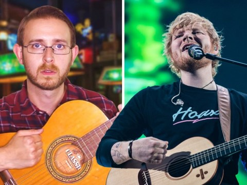 YouTuber BrettDomino cracks secret to making a hit Ed Sheeran song and it's a triumph