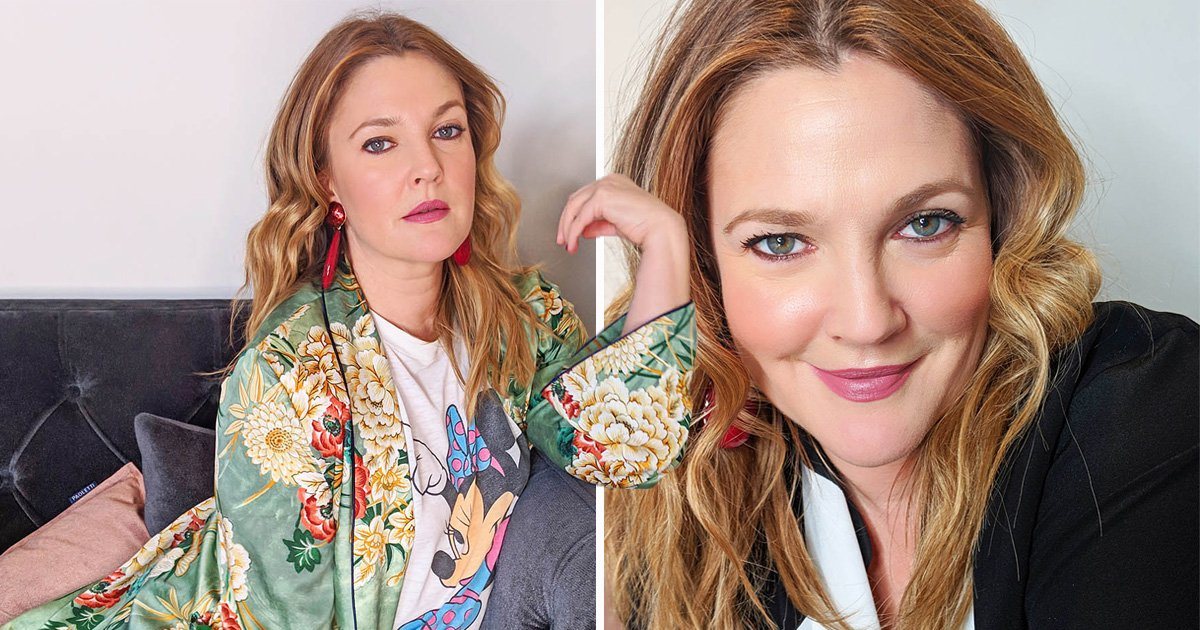 Drew Barrymore insists she's 'never done heroin' but is afraid her 'addictive personality' will kill her