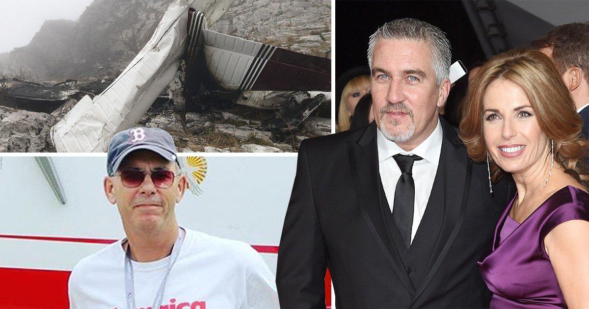 Paul Hollywood's brother-in-law dies in plane crash in Spain
