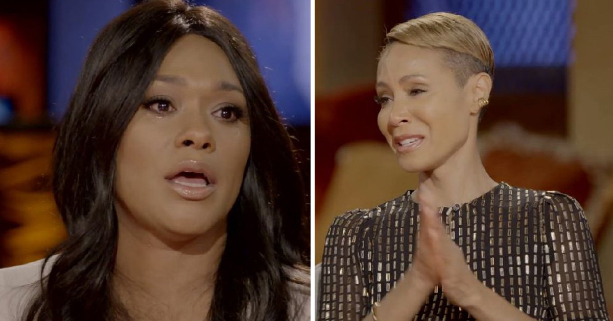 Jada Pinkett Smith breaks down in tears during emotional chat with alleged R Kelly victim: 'I'm sorry we didn't get it sooner'