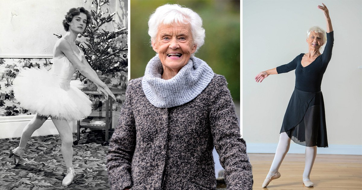 Meet Britain's oldest ballerina as she celebrates her 81st birthday