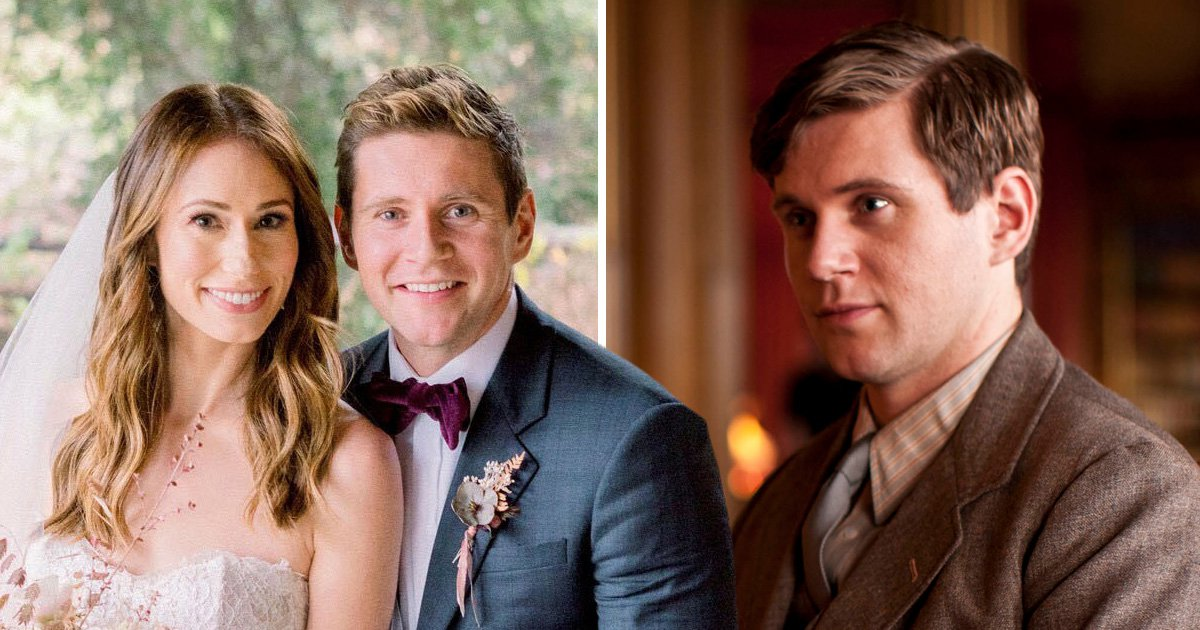 Downton Abbey's Allen Leech describes 'magical' wedding at which Glee stars performed