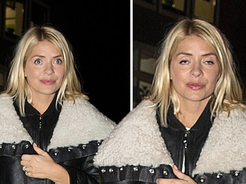 Holly Willoughby looks bleary-eyed after 12-hour party sesh with Emma Bunton and Nicole Appleton