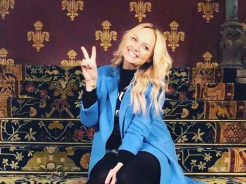 Emma Bunton dances on iconic Spice Girls Wannabe stairs 23 years later and fans are feeling major nostalgia