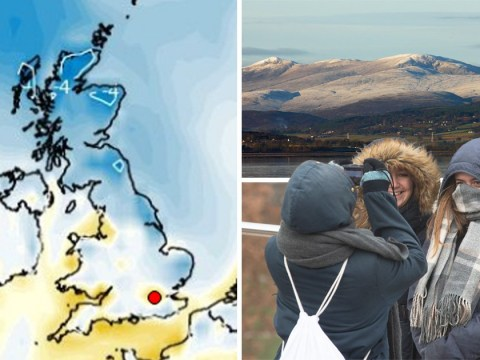 Britain to be gripped by snow as temperatures plummet to -10°C