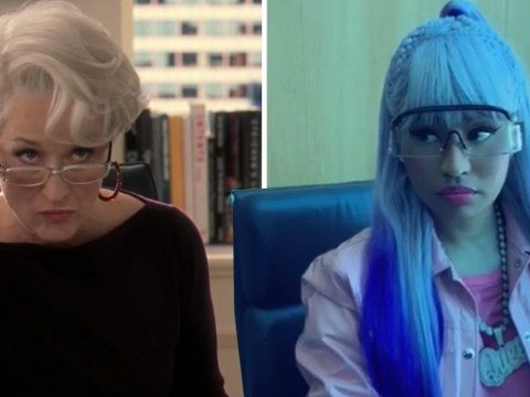 Nicki Minaj smashes Meryl Streep's iconic Devil Wears Prada scene and we can't stop watching it
