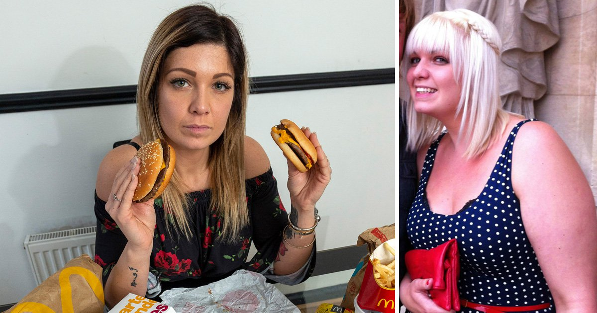 McDonald's addict who ate 7,000 calories a day loses five stone
