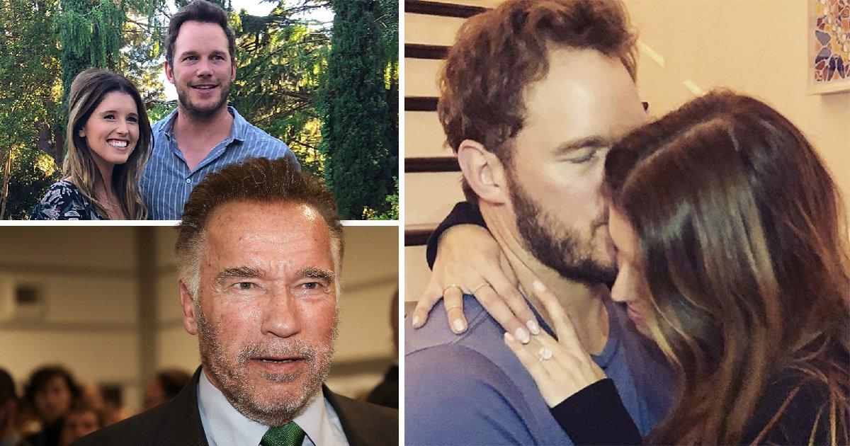 Chris Pratt 'asked Arnold Schwarzenegger for permission to propose' to fiancée Katherine 'around Christmas'