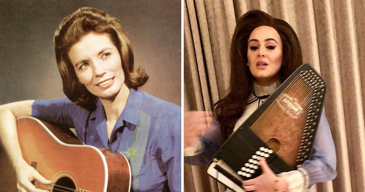 Adele going country for new music? Singer transforms into June Carter Cash for fancy dress