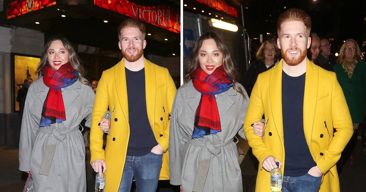 Strictly's Katya Jones joins husband Neil at theatre after returning from romantic Russia trip
