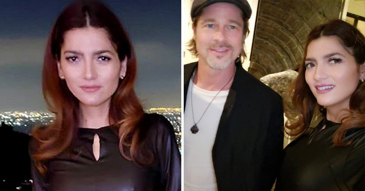 Blanca Blanco bags a selfie with Brad Pitt as she lives the dream at star-studded Hollywood parties
