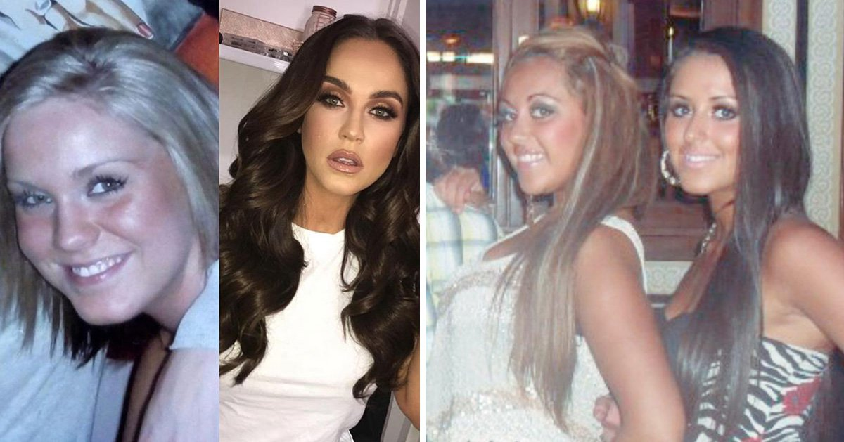 Geordie Shore cast prove the #GlowUp is real as they take part in #10yearchallenge