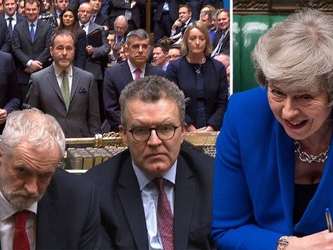 Theresa May sees off vote of no confidence by 325 votes to 306