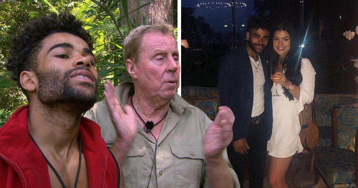 I'm A Celeb's Malique Thompson-Dwyer 'officially' dating Harry Redknapp's granddaughter Molly: 'They're cute together'