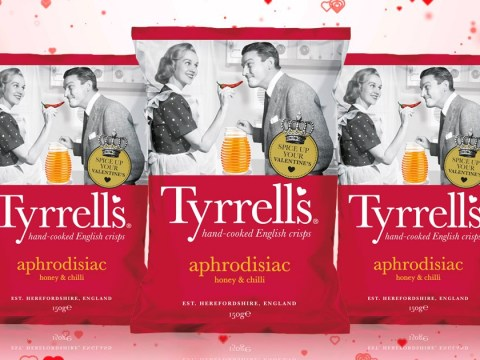 Tyrrells launches aphrodisiac crisps to get you in the mood this Valentine's