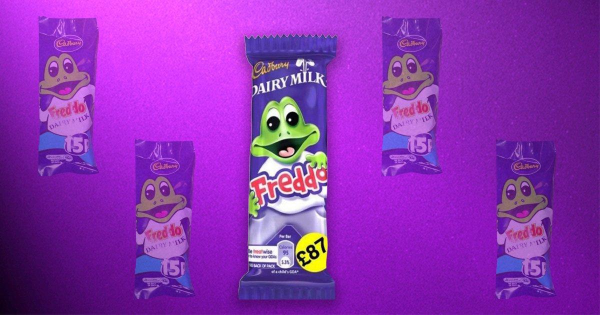 Cadbury's Freddo bar wins Facebook's 10 year challenge