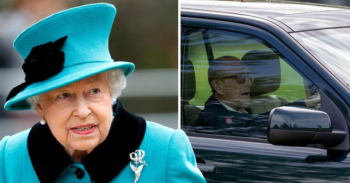 The Queen will be 'annoyed' with Prince Philip over car crash which left two injured