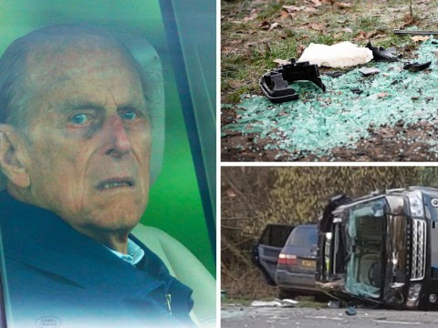 Prince Philip could be prosecuted over crash