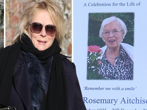 Jennifer Saunders and Joanna Lumley pay tribute as Dame June Whitfield's funeral takes place