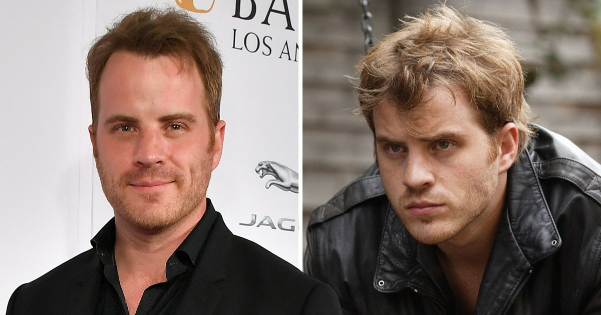 Rob Kazinsky and his EastEnders character Sean Slater