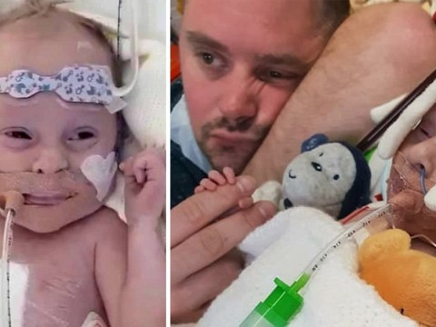'Helpless' parents wait to get new heart for baby who may only have hours to live