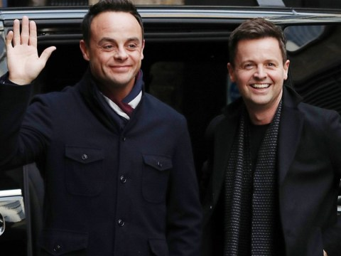 When will Ant McPartlin be back on TV as he is reunited with Declan Donnelly at Britain's Got Talent?