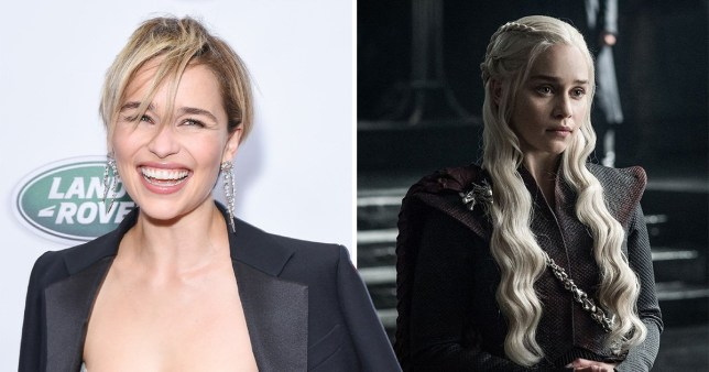 Game Of Thrones Season 8 Emilia Clarke Sobbed Lik Baby