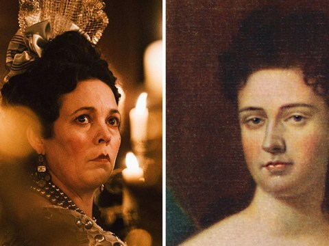 Who was the real Queen Anne, played by Olivia Colman in The Favourite?