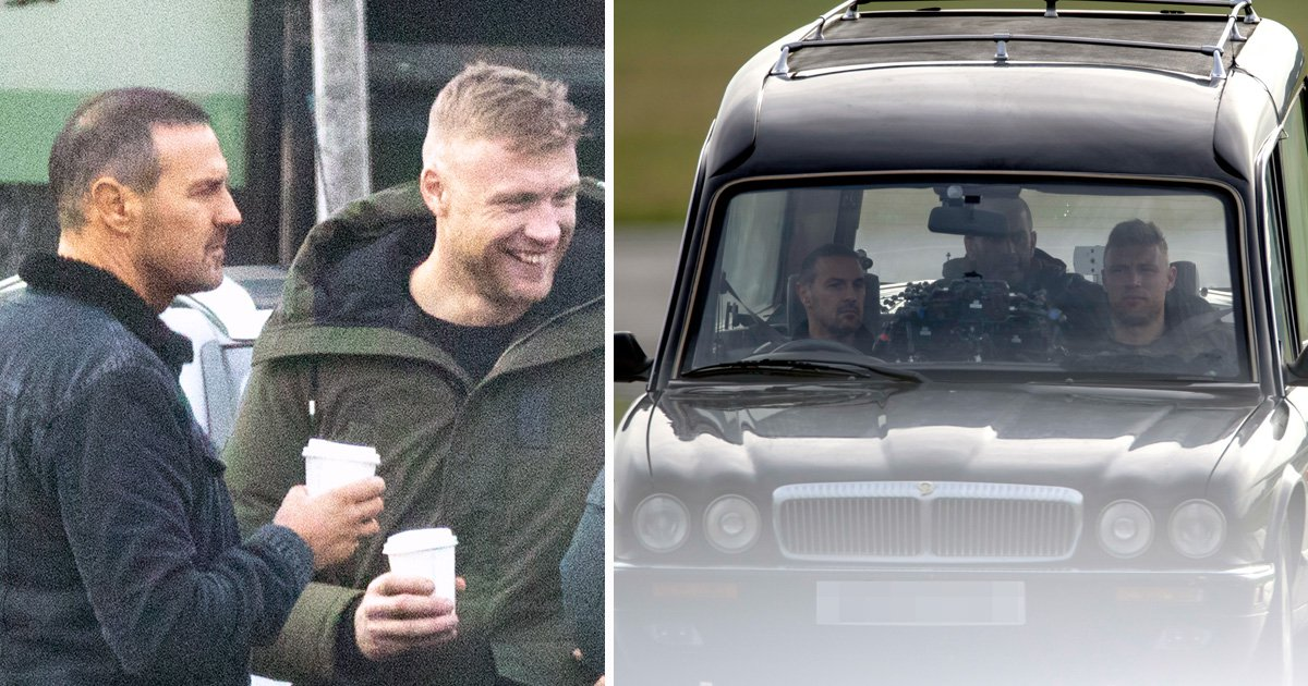 Top Gear gets off to ominous start as Paddy McGuinness and Freddie Flintoff start series in a hearse