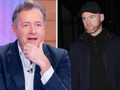 Piers Morgan recalls moment 'drunk Wayne Rooney fell into pot plant' during wild dinner