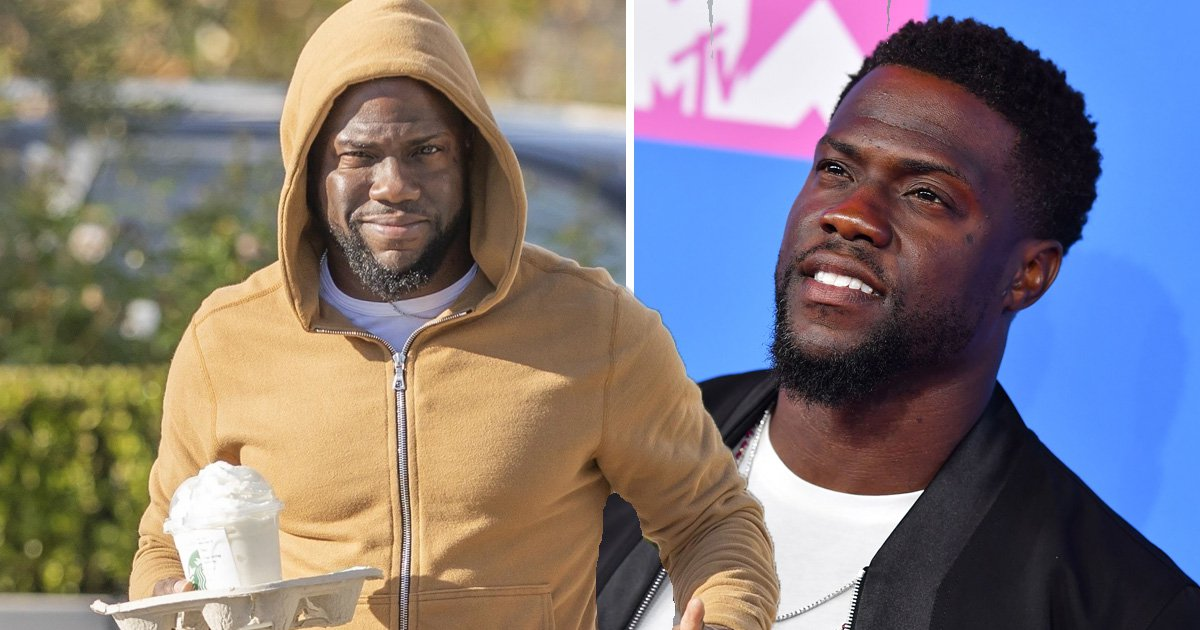 Kevin Hart tries to stay incognito in yellow tracksuit following Oscars hosting drama