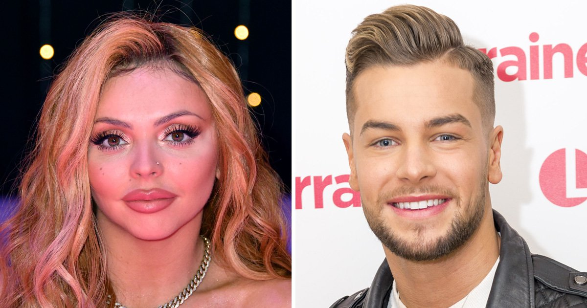Jesy Nelson insists she's 'friends' with Chris Hughes amid claims 'she dumped him for fear he was using her'